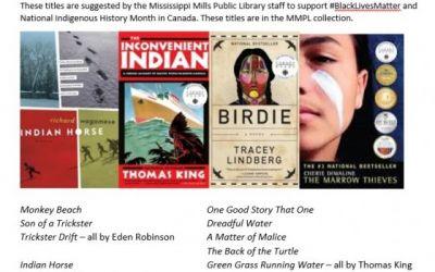 Suggested book lists for National Indigenous History Month & #BlackLivesMatter